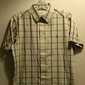 Vintage Men's Penguin Short Sleeve Shirt